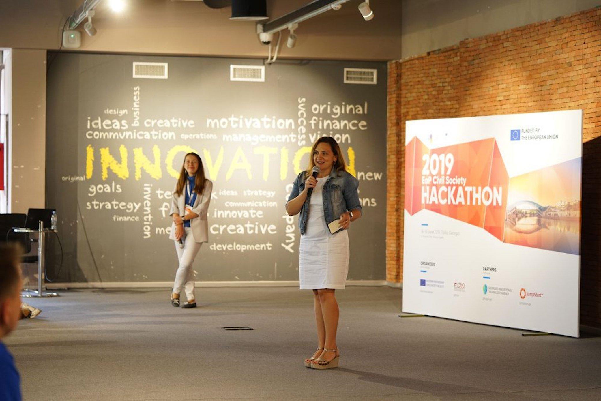 2019 EaP Civil Society Hackathon in Tbilisi