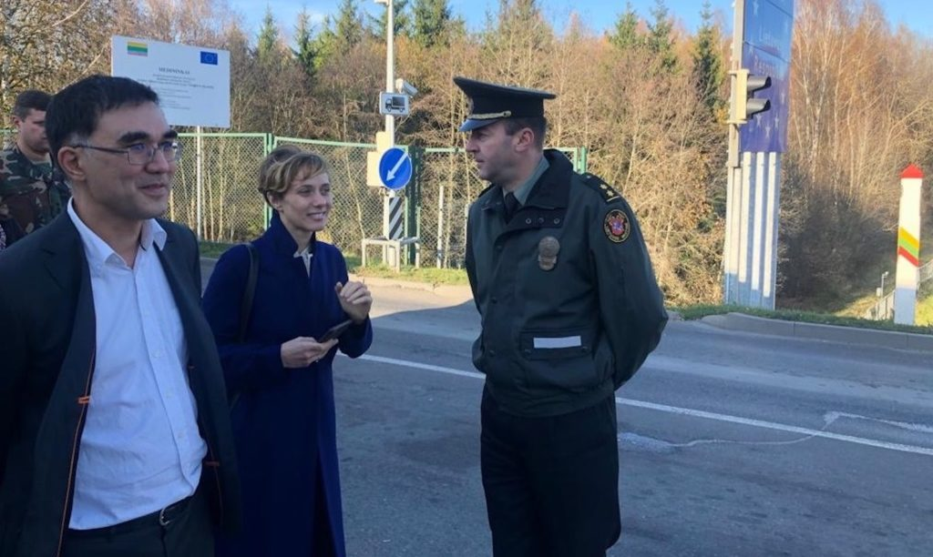 eu4digital team conducts site visit to lithuaniabelarus